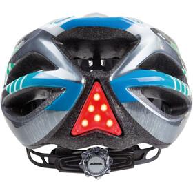 Alpina FB Jr. 2.0 Flash Helmet white-steelgrey-gradient